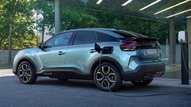 Citroën ë-C4 - posterior