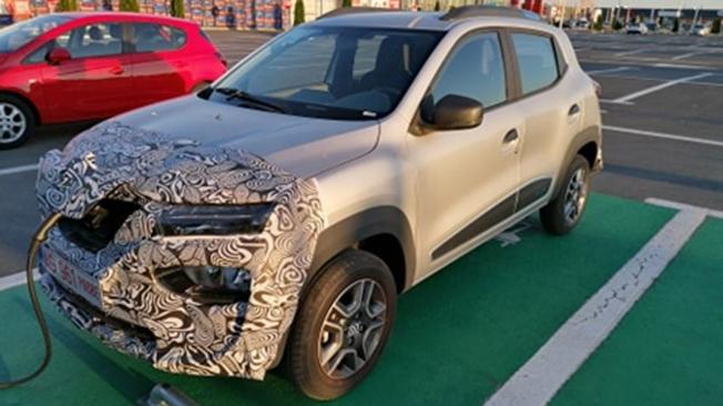 Dacia Spring - foto espía