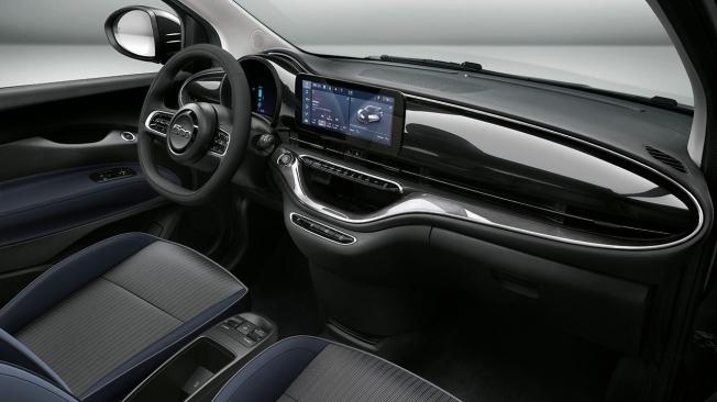 FIAT 500 France Edition - interior