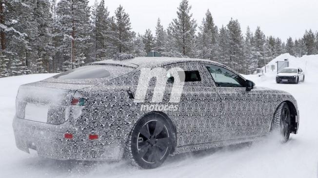 Jaguar XJ Eléctrico - foto espía posterior