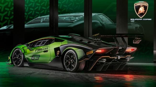 Lamborghini Essenza SCV12 - posterior