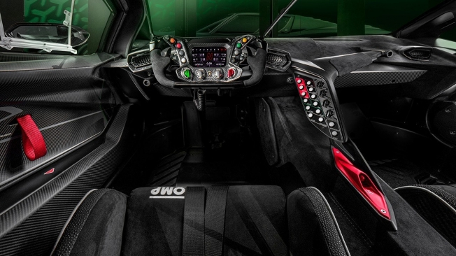 Lamborghini Essenza SCV12 - interior
