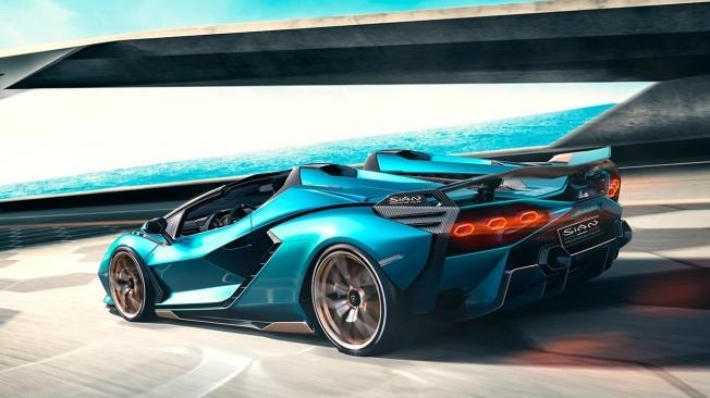 Lamborghini Sián Roadster - posterior
