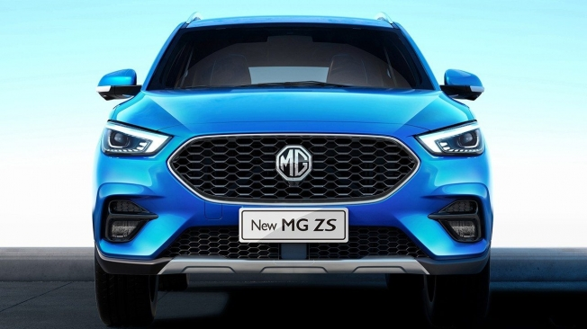 MG ZS 2020 - frontal