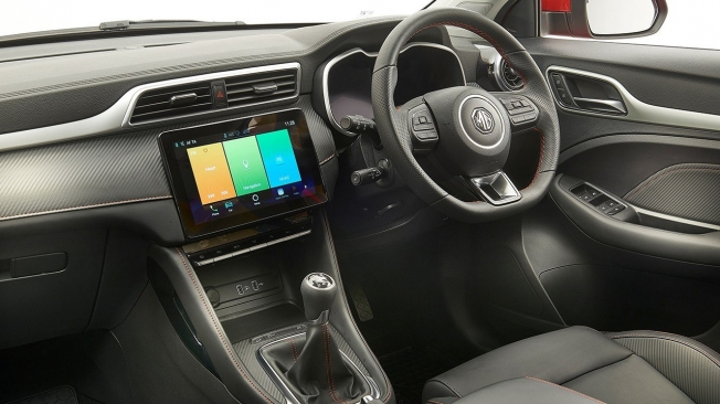 MG ZS 2020 - interior