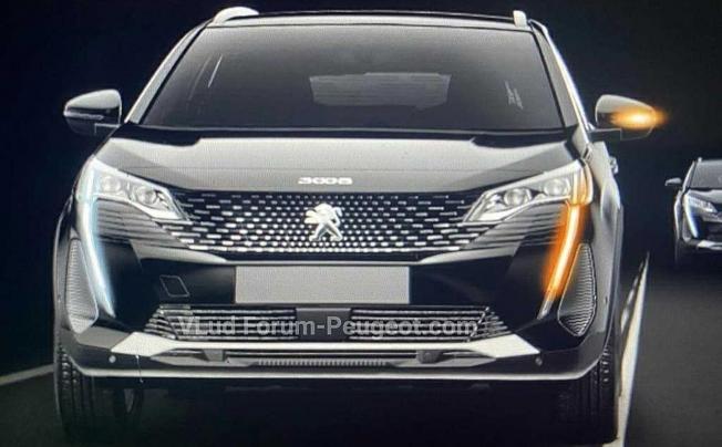 Peugeot 3008 2021 - filtración