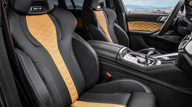 BMW X6 M Competition - interior