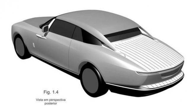 Patente del nuevo Rolls-Royce