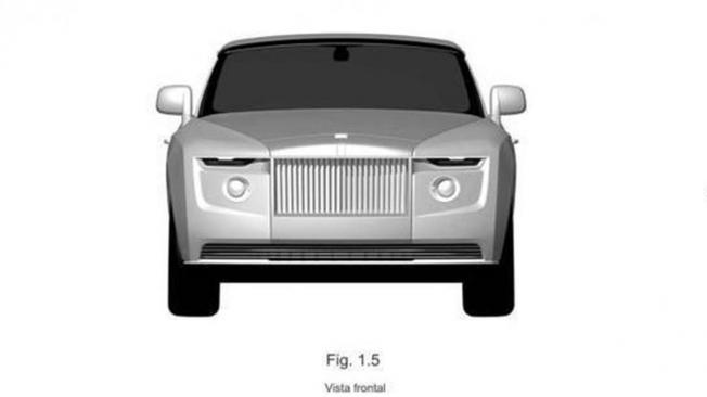 Patente de un nuevo Rolls-Royce