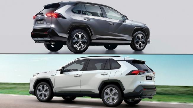 Suzuki Across vs Toyota RAV4