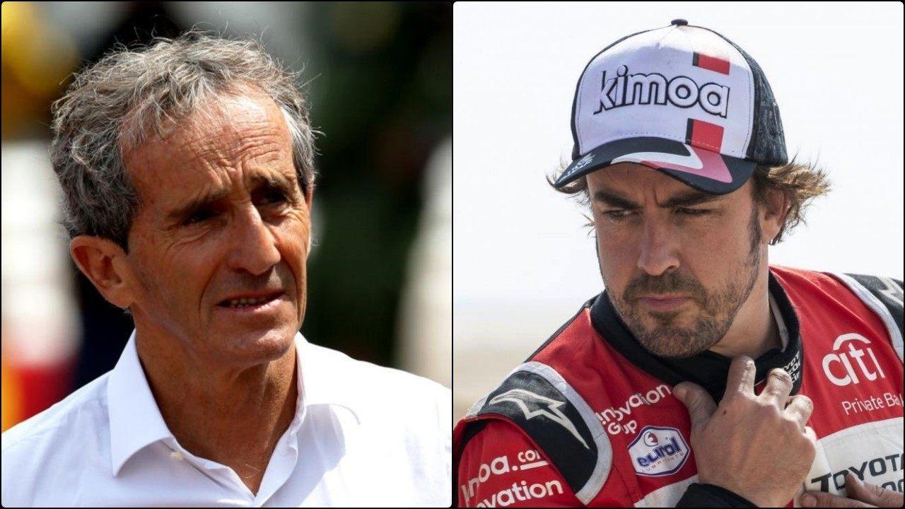 La preocupación de Renault que motivó una seria charla entre Prost y Alonso