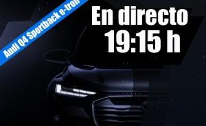 Sigue en directo la presentación del Audi Q4 Sportback e-tron concept