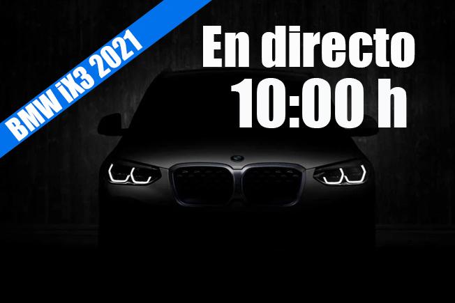 Sigue en directo la presentación del BMW iX3
