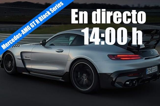 Sigue en directo la presentación del nuevo Mercedes-AMG GT R Black Series
