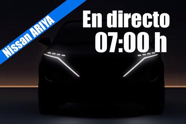 Sigue en directo la presentación del Nissan Ariya