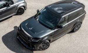 Project Kahn presenta su última creación, el Range Rover Sport SVR Pace Car