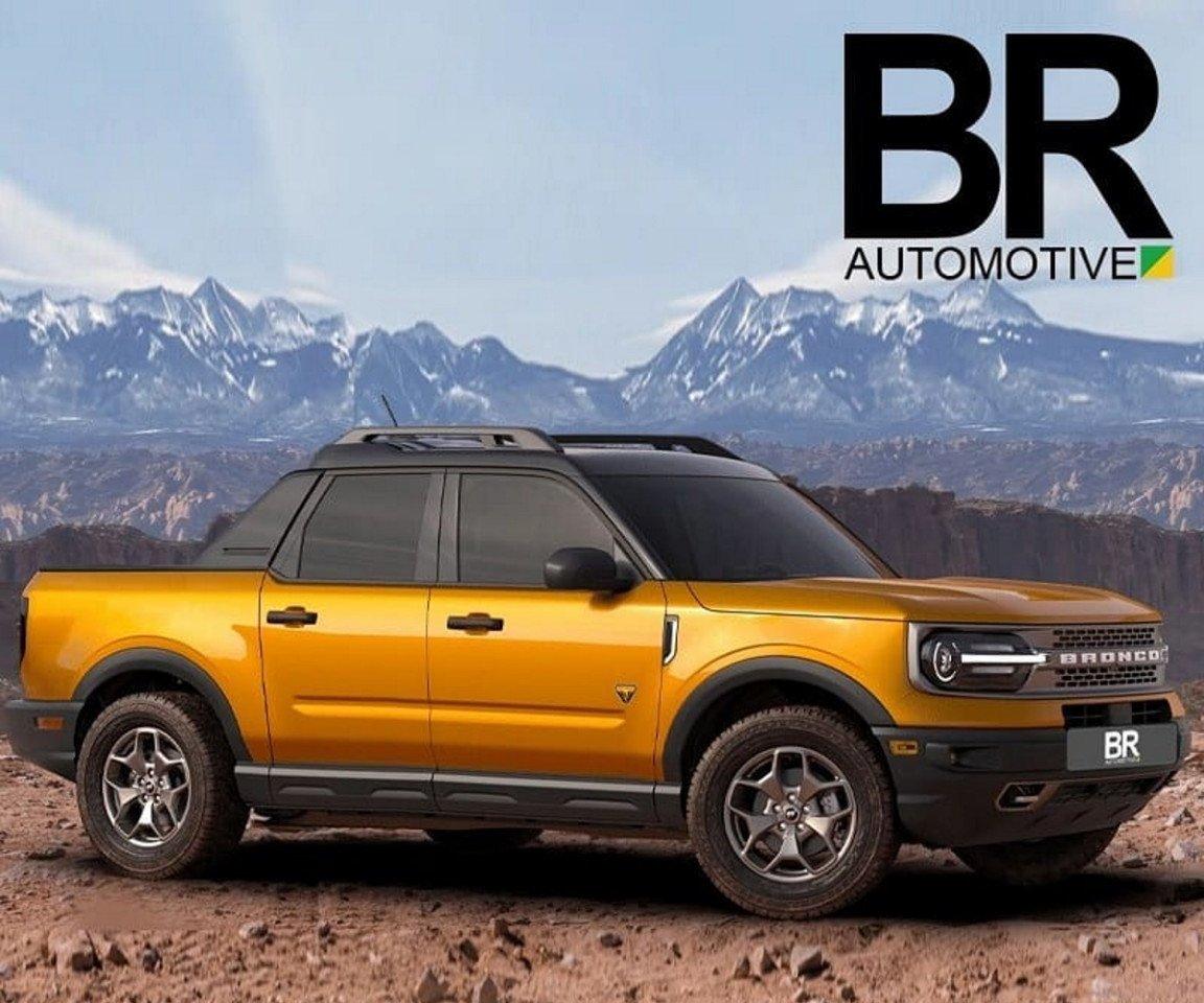 Este es el aspecto del futuro Ford Maverick con ADN Bronco Sport