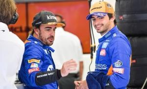 Sainz, deseoso de compartir parrilla con Alonso: «Nos vamos a divertir»