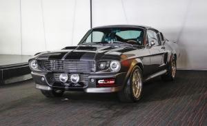 Uno de los Shelby GT500 'Eleanor' originales aparece en Dubai
