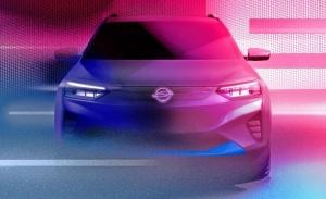 Primeros teaser del nuevo SsangYong E100, el SUV eléctrico que llega en 2021