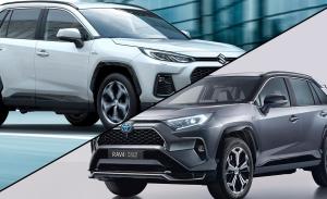 Suzuki Across vs Toyota RAV4, dos SUV híbridos enchufables emparentados