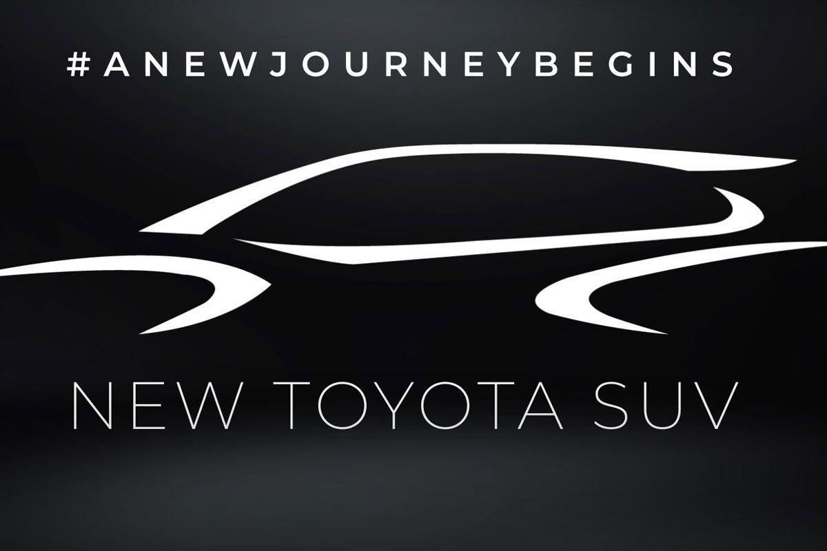 Toyota Tailandia anuncia el teaser de un nuevo SUV, el Corolla cross más cerca