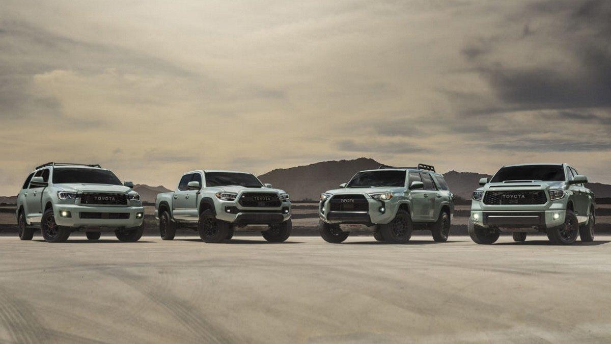 Toyota desvela las variantes TRD Pro 2021 del Tundra, Tacoma, Sequoia y 4Runner
