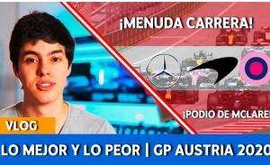 [Vídeo] Lo mejor y lo peor del GP de Austria de F1 2020
