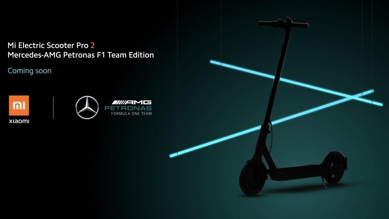 ¿Qué tienen en común Mercedes F1 y Xiaomi? ¡Un Mi Electric Scooter Pro 2!