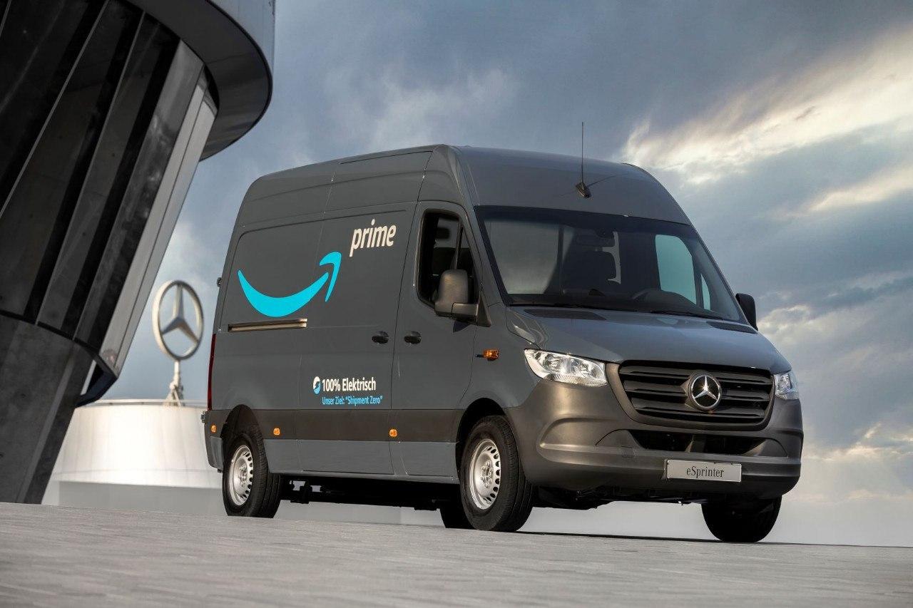 Amazon encarga a Mercedes-Benz 1.800 furgonetas eléctricas para Europa