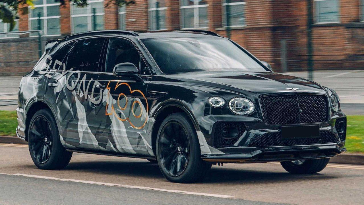 Bentley desvela las primeras imágenes del nuevo Bentayga Speed 2021