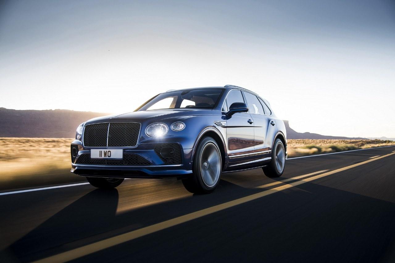 Ya está aquí el nuevo Bentley Bentayga Speed de 635 CV