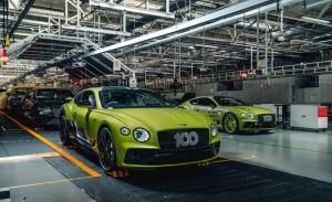 Bentley comienza la producción del Pikes Peak Continental GT