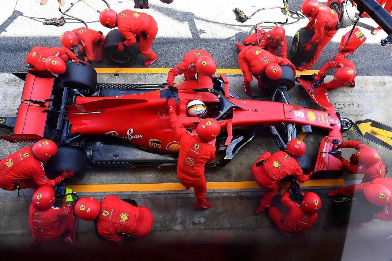 Binotto, sorprendido por las insinuaciones de relación tensa entre Vettel y Ferrari