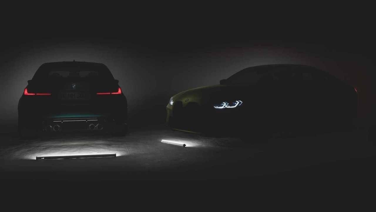 Filtran detalles del nuevo BMW M3 G80 durante una presentación en Estados Unidos