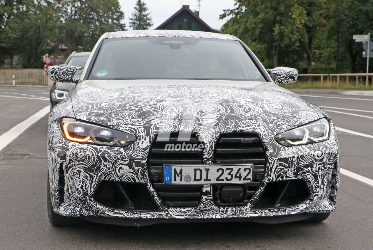 El nuevo BMW M3 Competition deja interesantes detalles a la vista en nuevas fotos espía