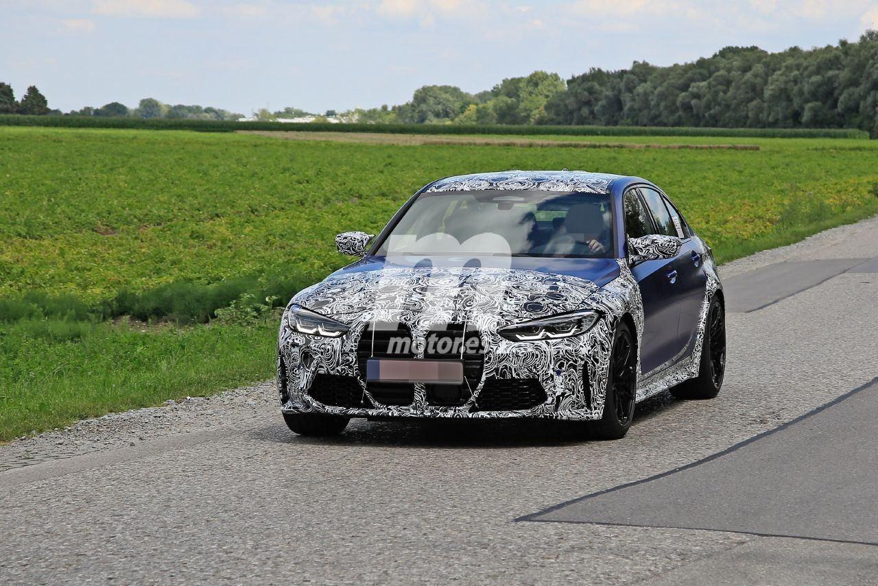 La nueva generación del BMW M3, más destapada en los prototipos de pre-producción