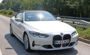 La nueva generación del BMW Serie 4 Cabrio 2021 rueda casi destapado en Alemania