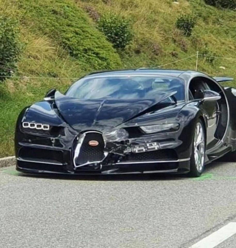 Bugatti y Porsche, protagonistas de un accidente muy caro [con vídeo]
