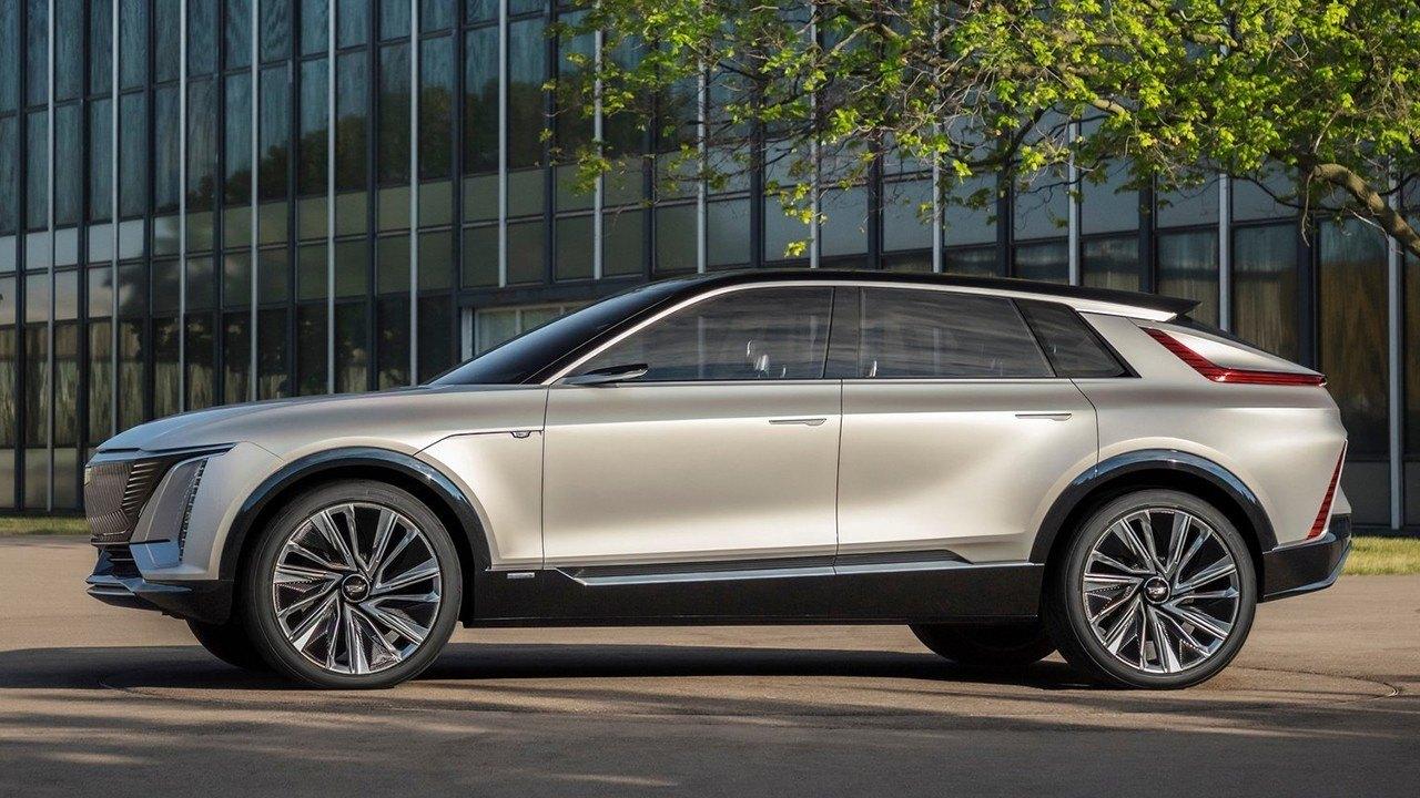Foto Cadillac Lyriq Concept - exterior