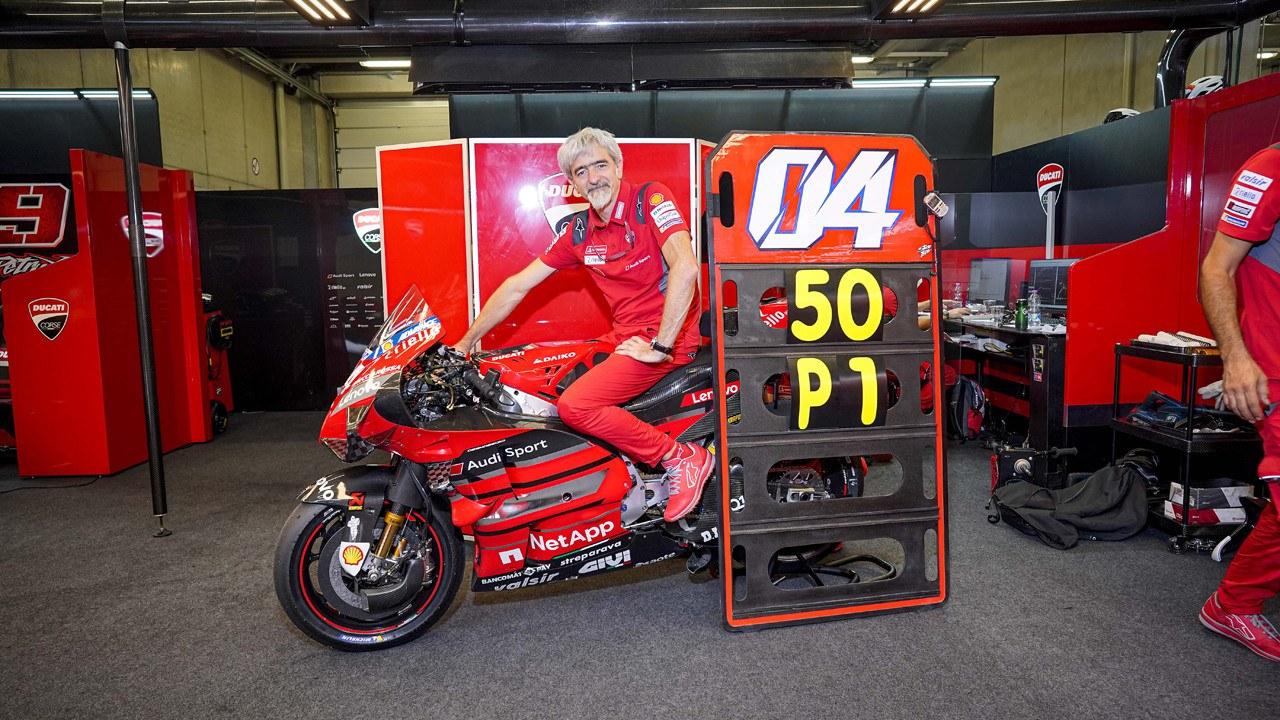 Ducati afontra el GP de Estiria tras celebrar su victoria 50 en MotoGP