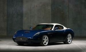A subasta uno de los rarísimos y exclusivos Ferrari 575 GTZ Zagato