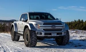 Ford F-150 Pick-up, la nueva bestia de Arctic Trucks para los terrenos más duros
