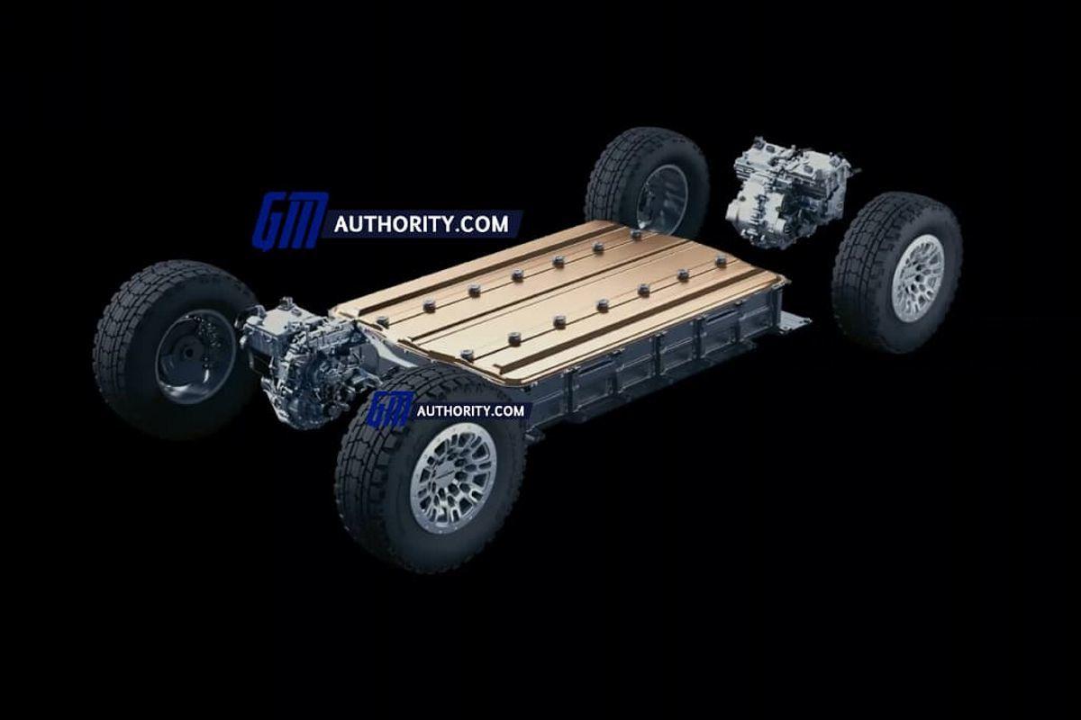 Filtrado el tren motriz de los futuros GMC Hummer EV