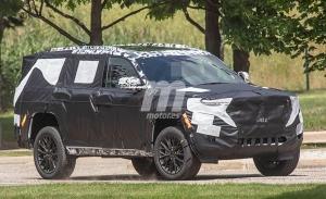 El Jeep Grand Cherokee contará con una suspensión neumática mucho más alta