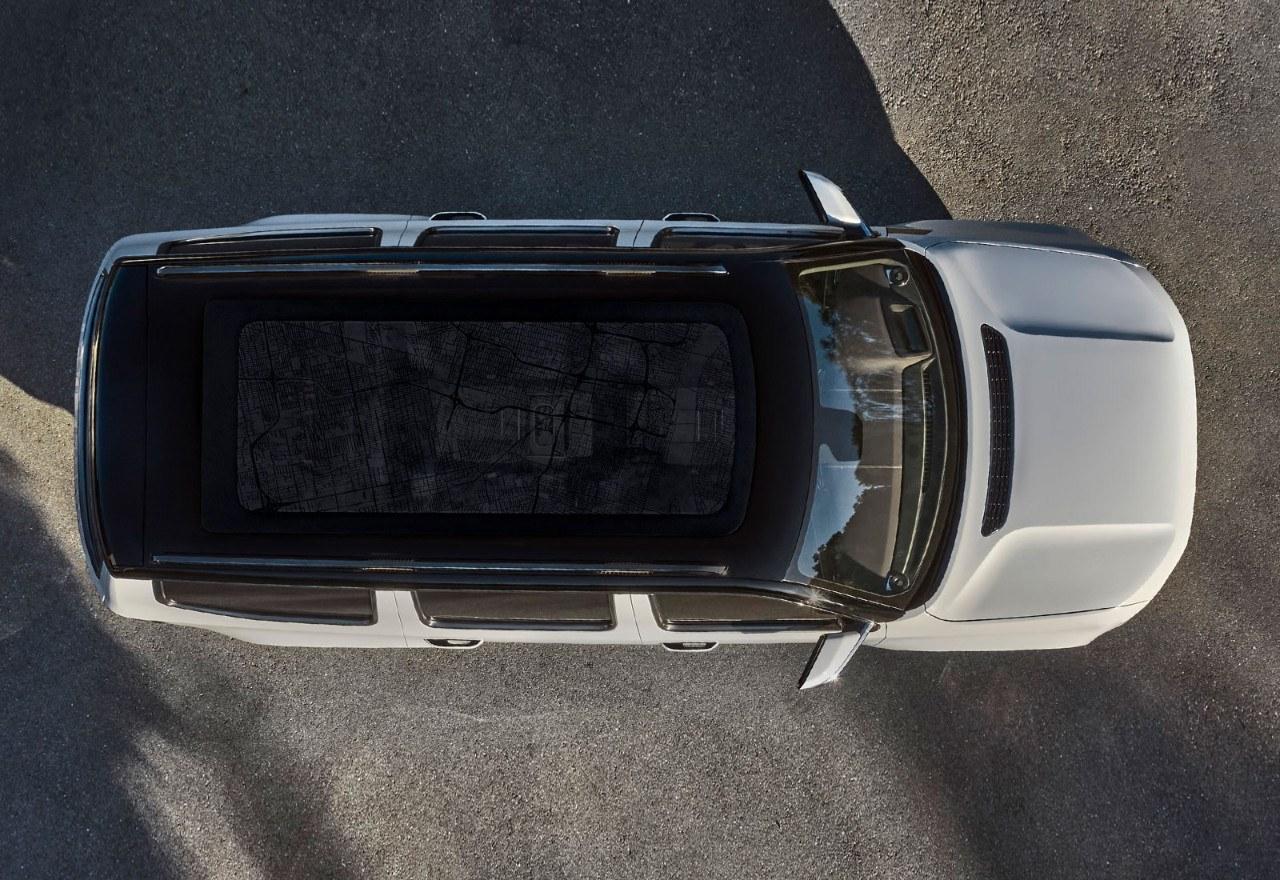 El Jeep Grand Wagoneer concept se muestra por primera vez al completo