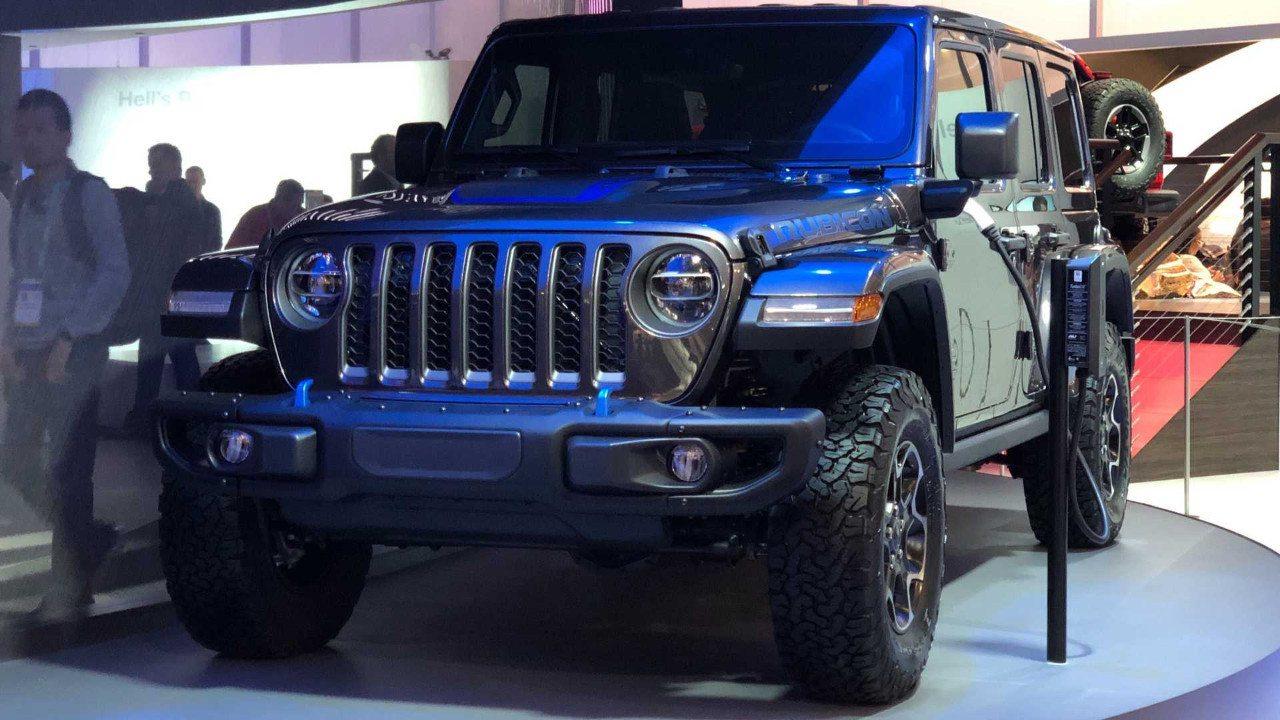 El Jeep Wrangler 4xe híbrido enchufable ya tiene fecha de presentación