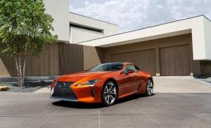 Los Lexus LC y LC Cabrio, ahora con un nuevo color inspirado en el atardecer japonés