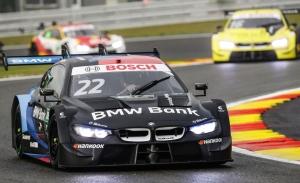 Lucas Auer, tras su debut con BMW en el DTM: «Estoy feliz por mi actuación»