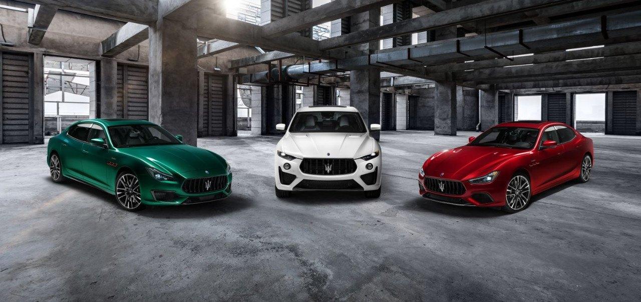 Maserati lanza los nuevos Levante, Ghibli y Quattroporte Trofeo V8 de 580 CV